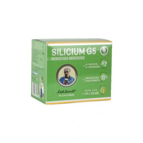 Silicium G5 original  monodose 30x20ml