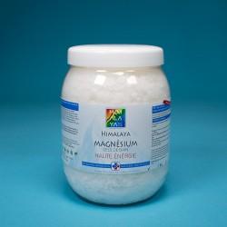 Magnésium sels de bain (flocons) 1 Kg – 2oo gr extra gratuit cristaux flocons pure