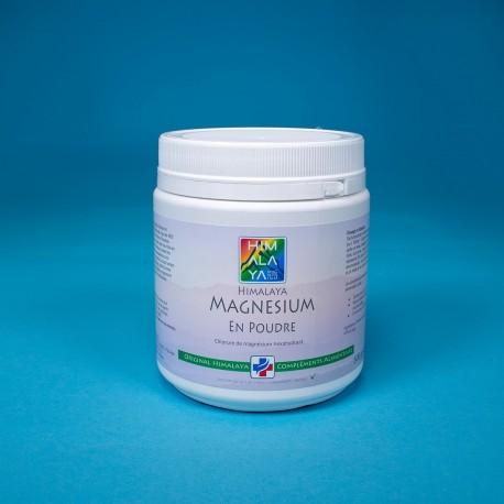 Poudre magnésium himalaya interne 500gr complément alimentaire cristaux carence  naturel pure  marin zenchstein nigari sportifs