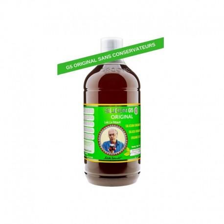Silicium G5 original 1 litre  sans conservateurs